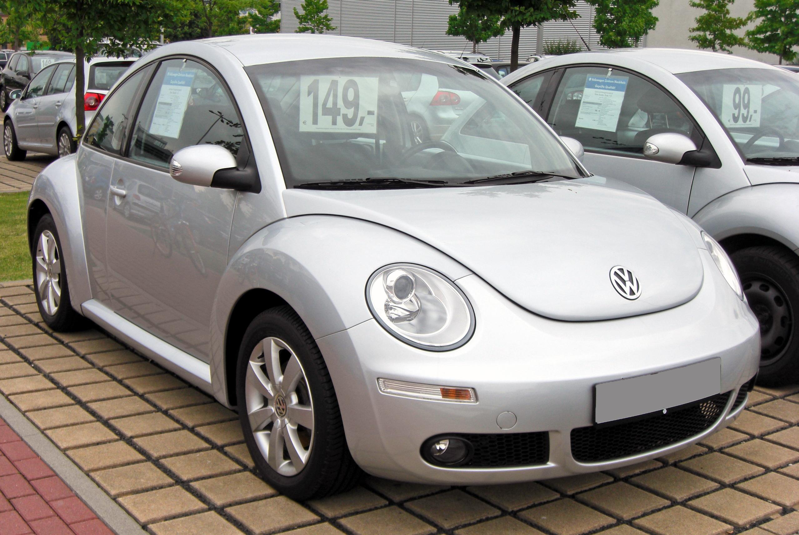 file vw new beetle facelift 20090620 front jpg wikimedia commons. Black Bedroom Furniture Sets. Home Design Ideas