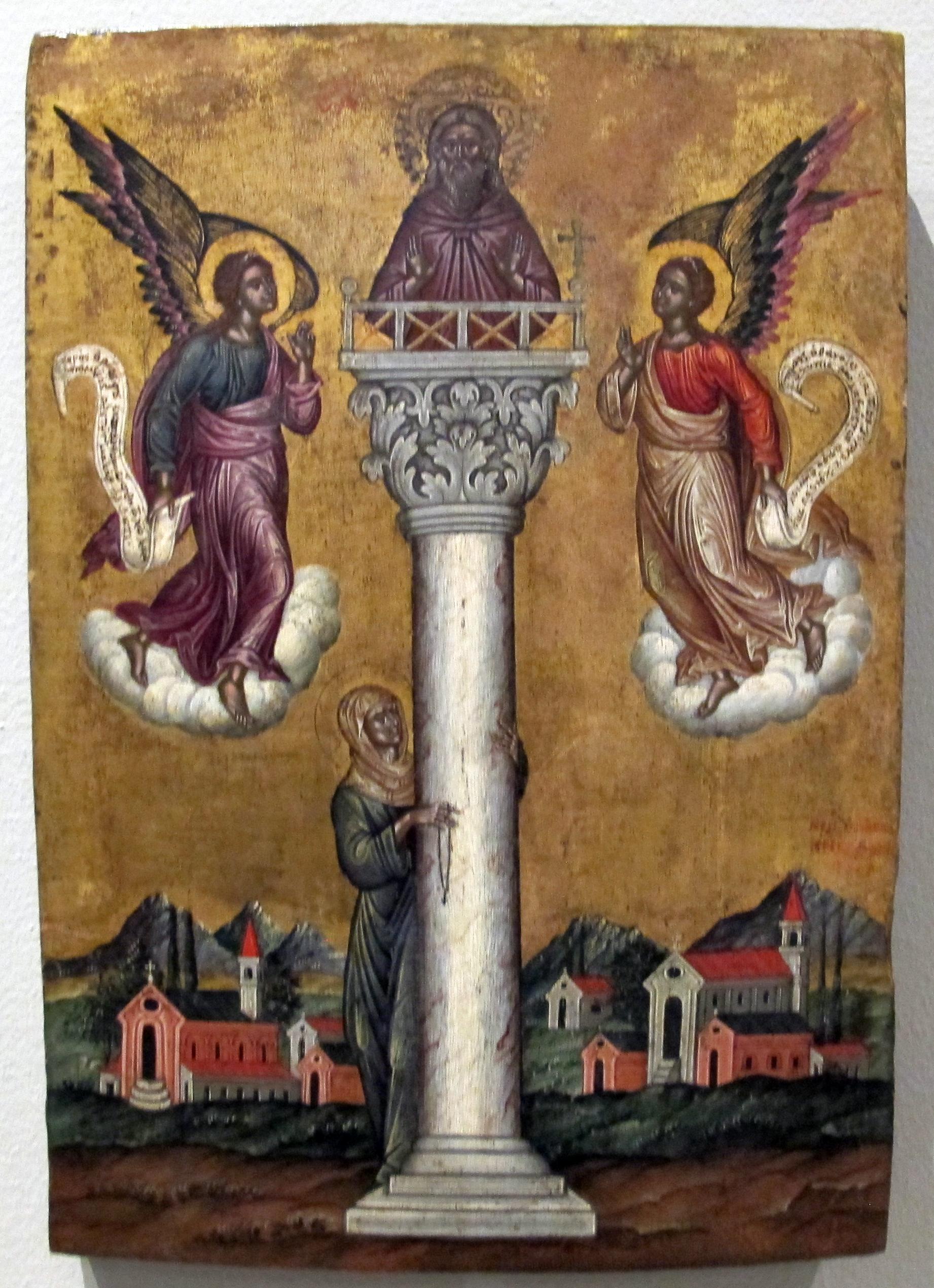 Risultati immagini per Alipio lo Stilita
