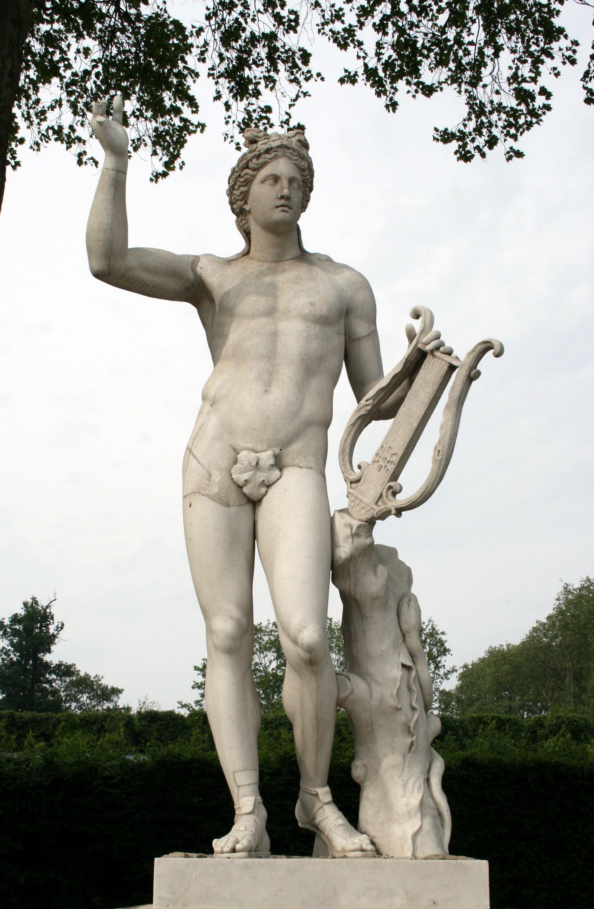 Image De Apollon file:versailles demi-lune apollon lyre - wikimedia commons