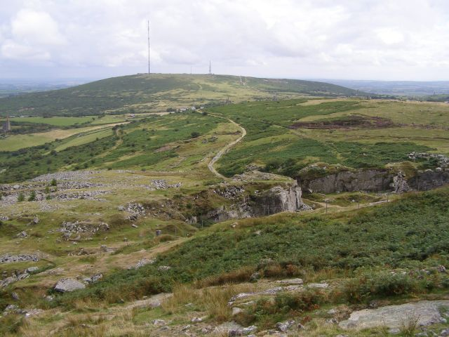 View from Stowes Hill towards Caradon Hill - geograph.org.uk - 229693.jpg