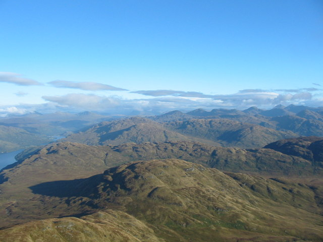 View north from the summit of Ben Lomond - geograph.org.uk - 1114912