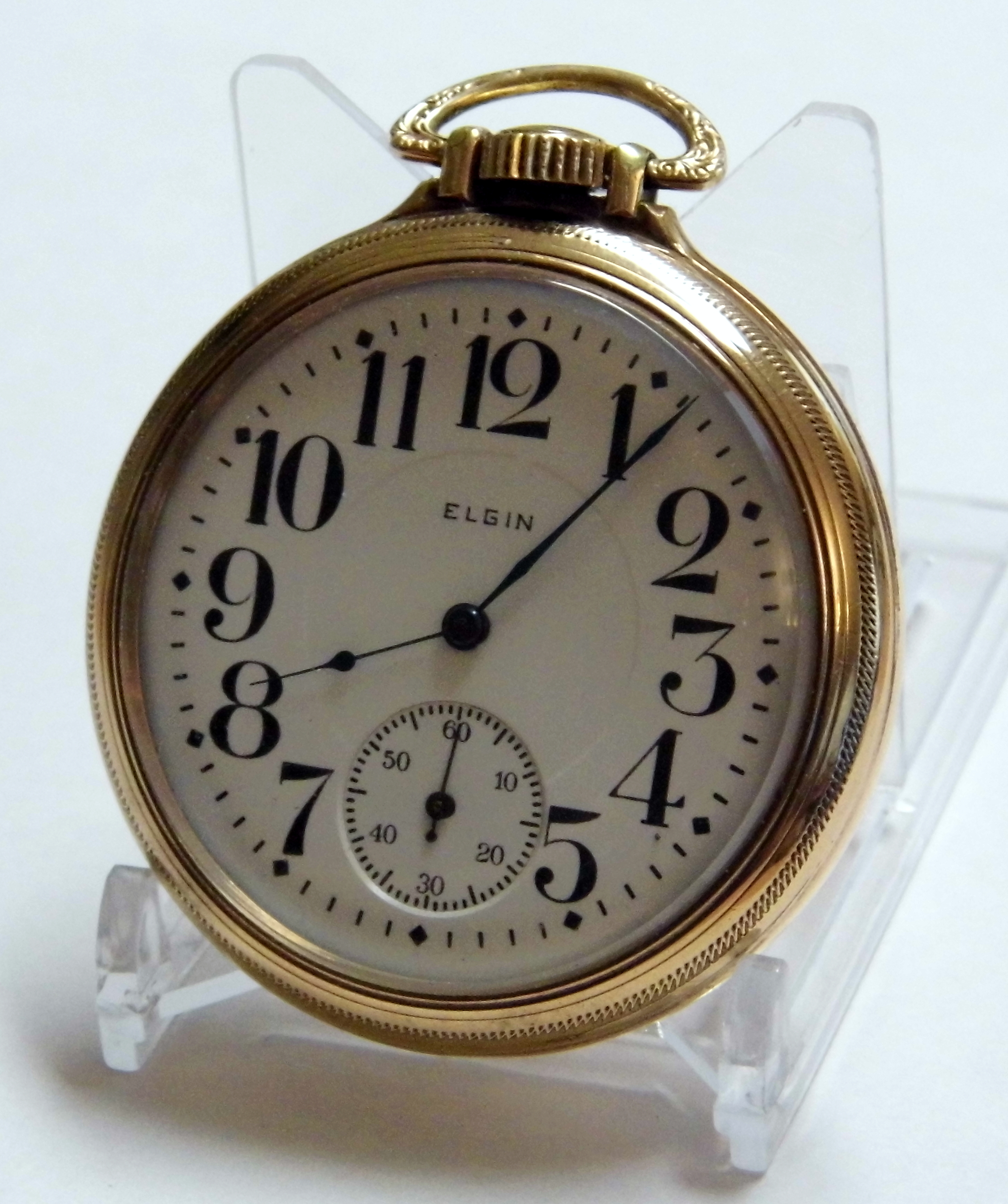 Elgin antique watch pocket dating picture