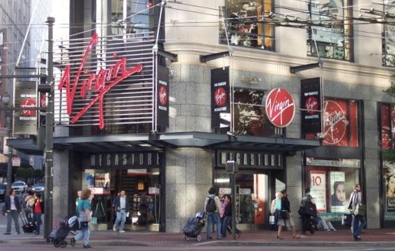 Virgin Stores 85