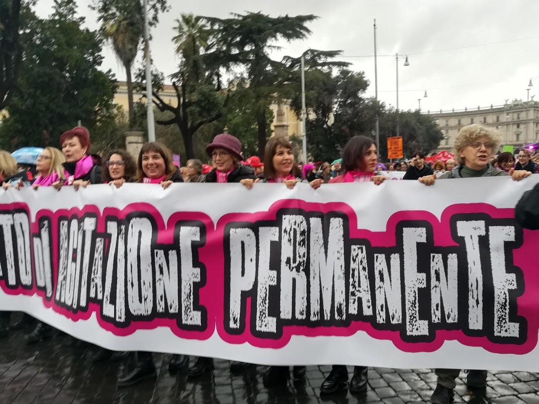 Manifestazione Non una di meno del 25 novembre