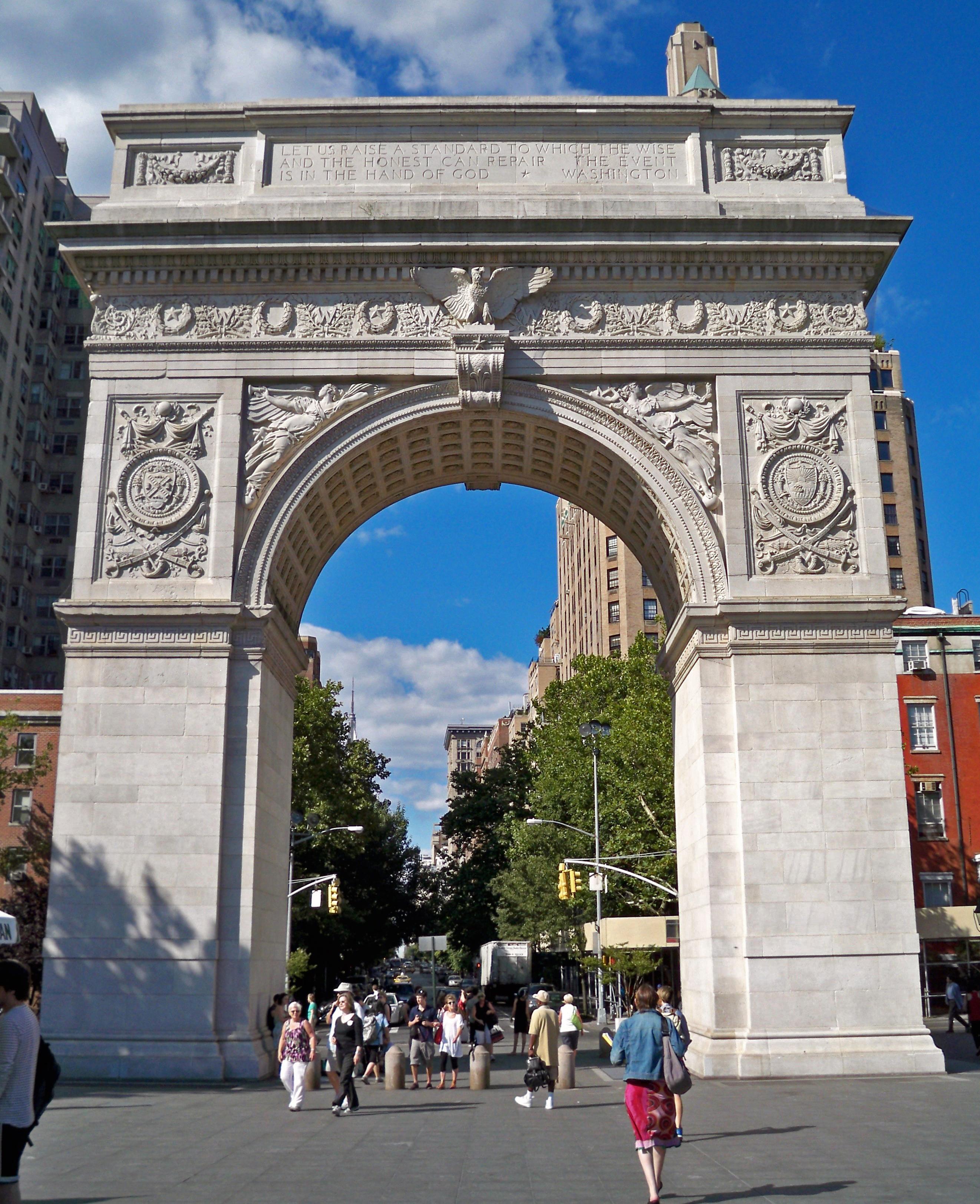 Washington Square Arch Wikiwand