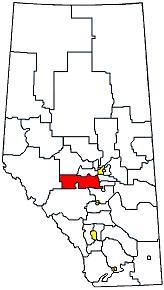 Drayton Valley-Calmar Defunct provincial electoral district in Alberta