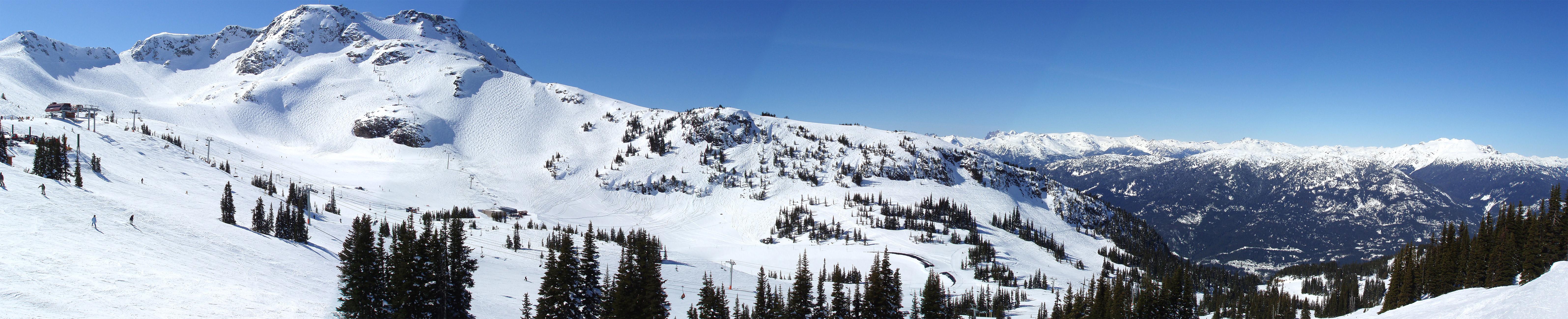Whistler ski resort image wikimedia