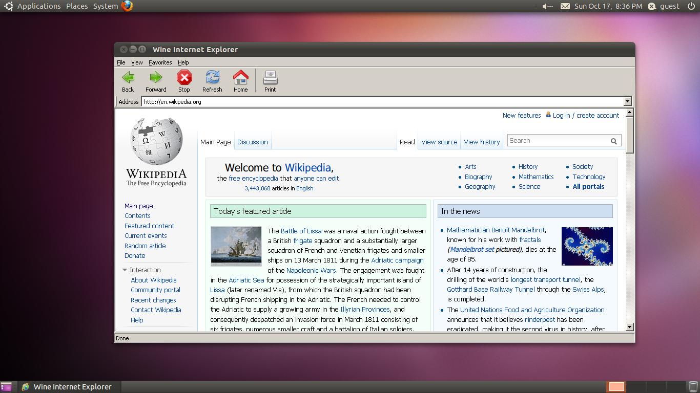 ubuntu wine directx 10