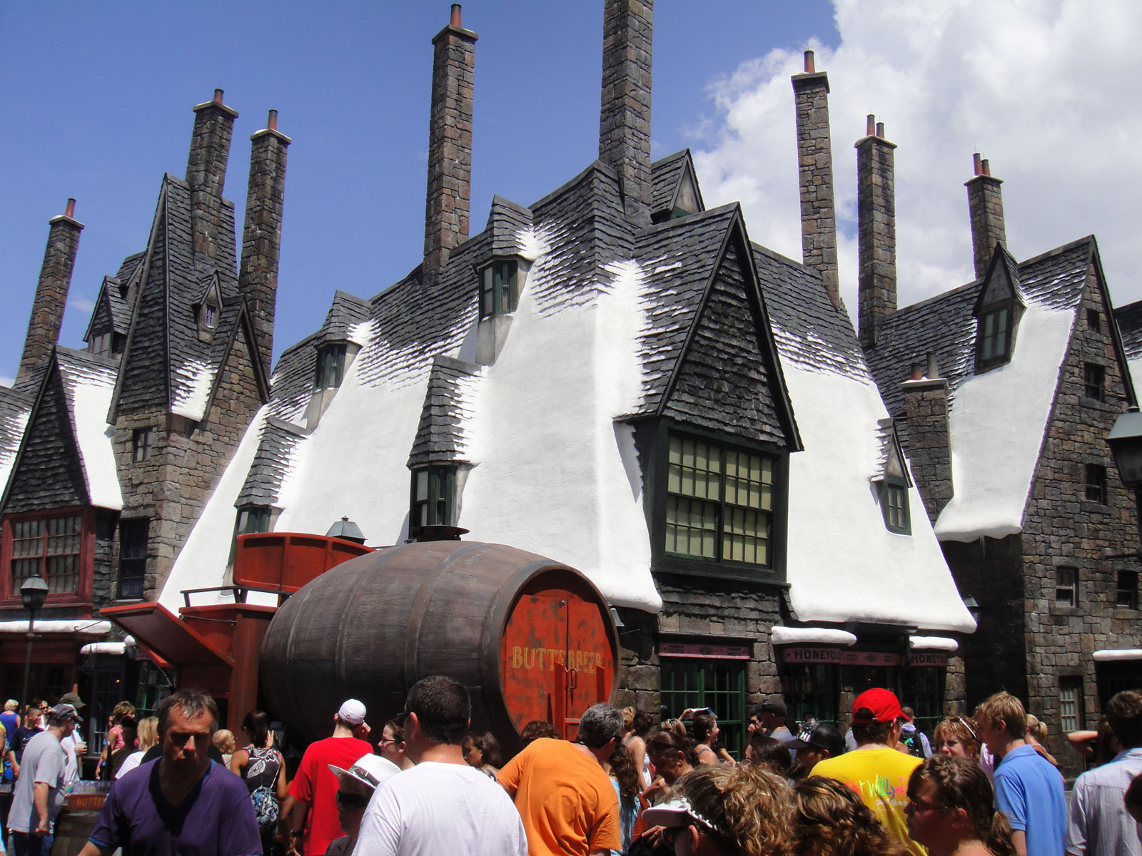 Hogsmeade at the Wizarding World of Harry Potter