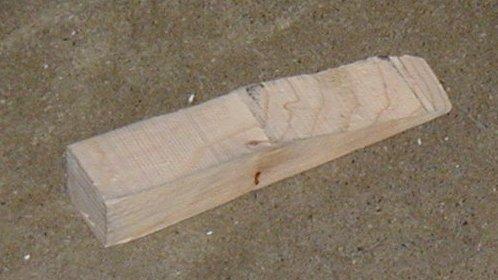 File Wooden Wedge Door