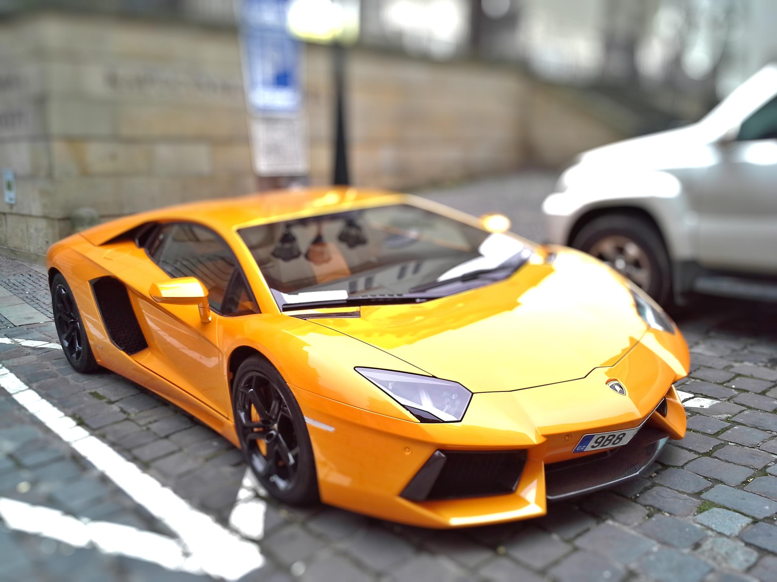 Fileyellow Lamborghini Aventador Jpg