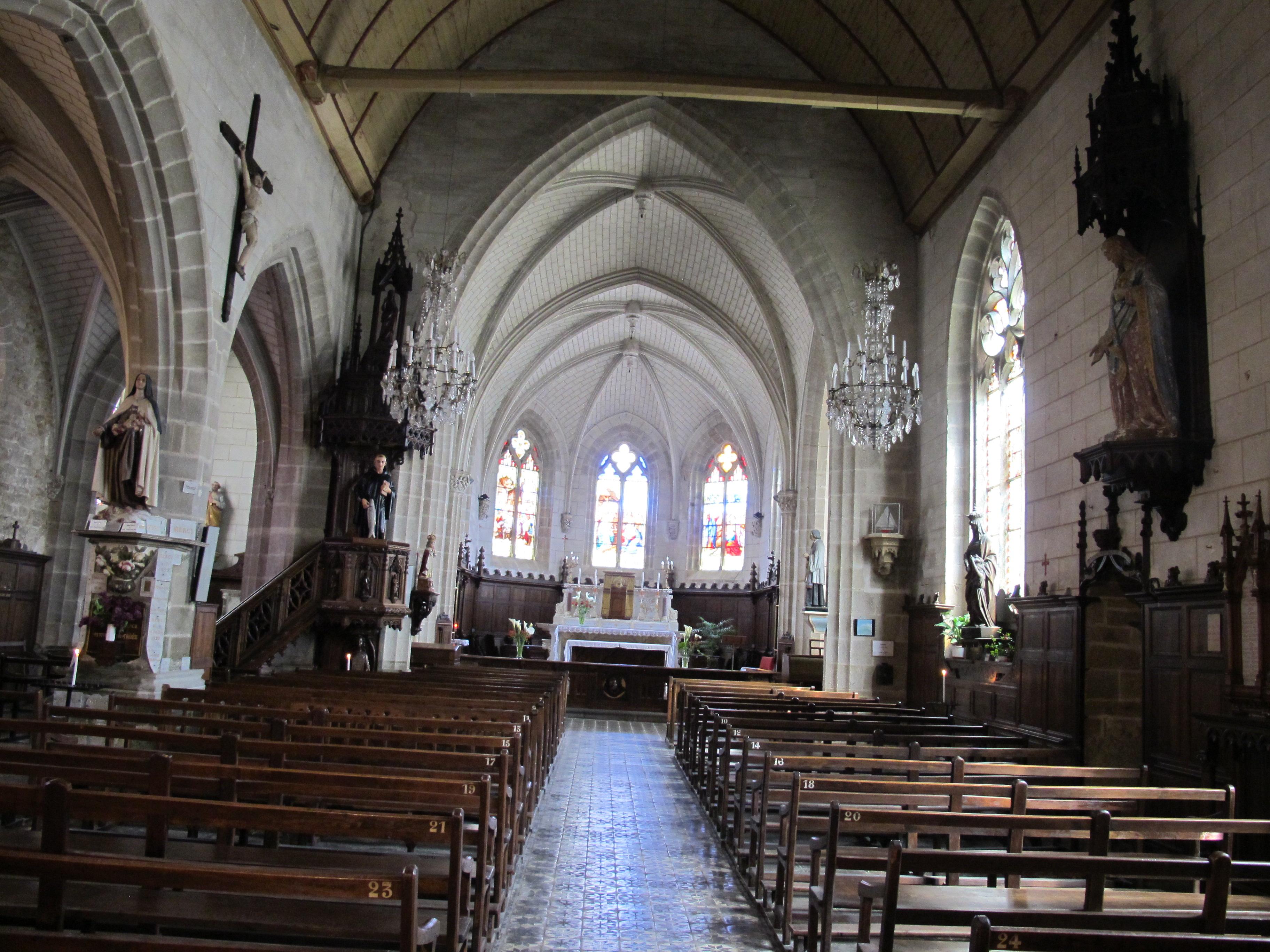 Architecte D Intérieur Auray file:Église saint-goustan d'auray - interieur 01