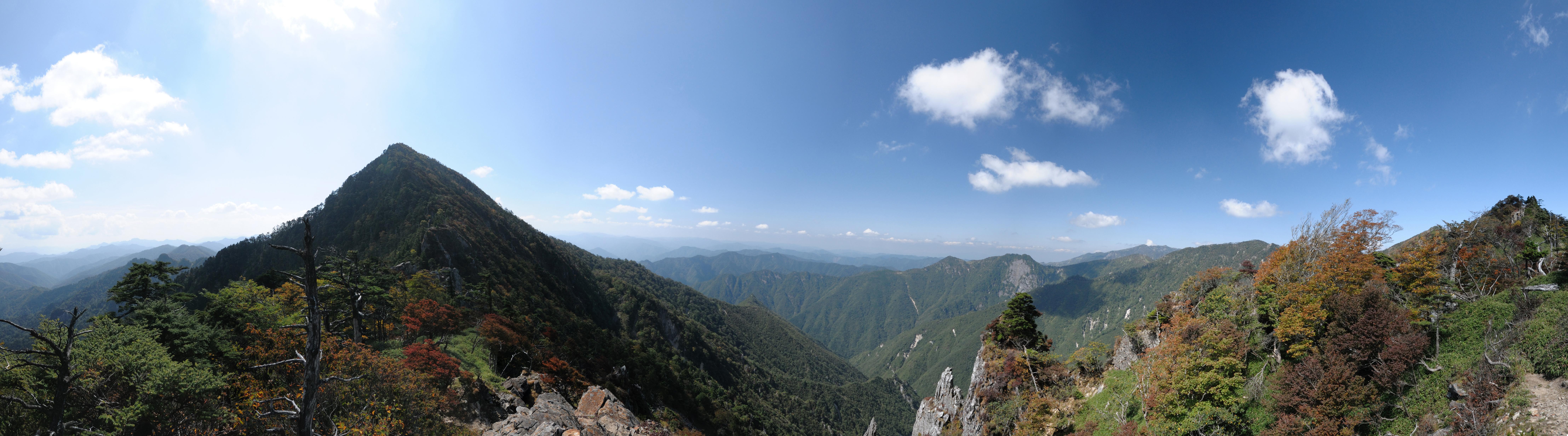 ファイル 釈迦ヶ岳 panoramio jpg wikipedia