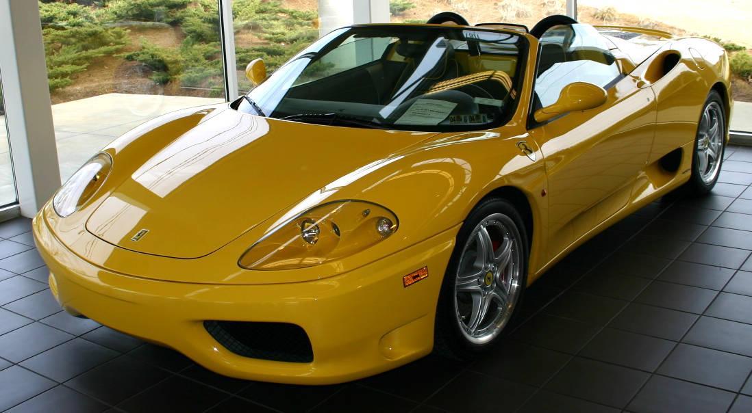 Ferrari : 360 Spider F1 2001