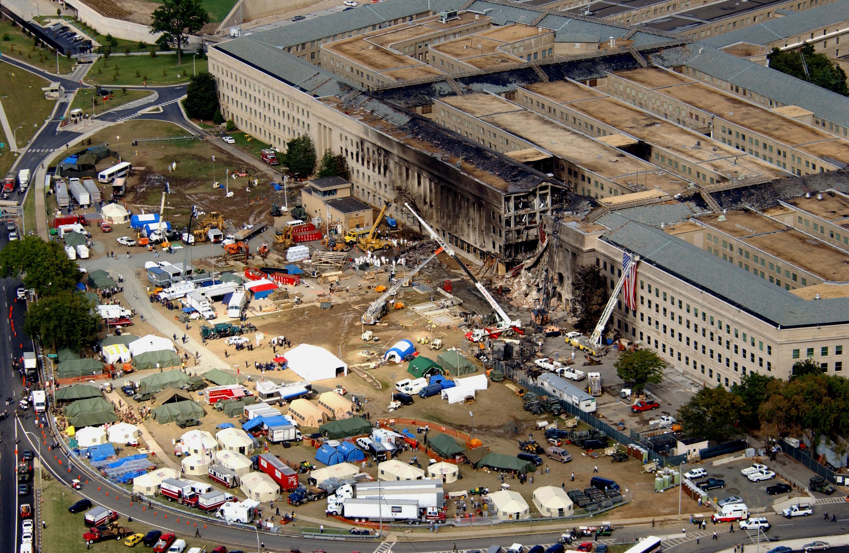 Risultato immagine per 11 settembre 2001 pentagono