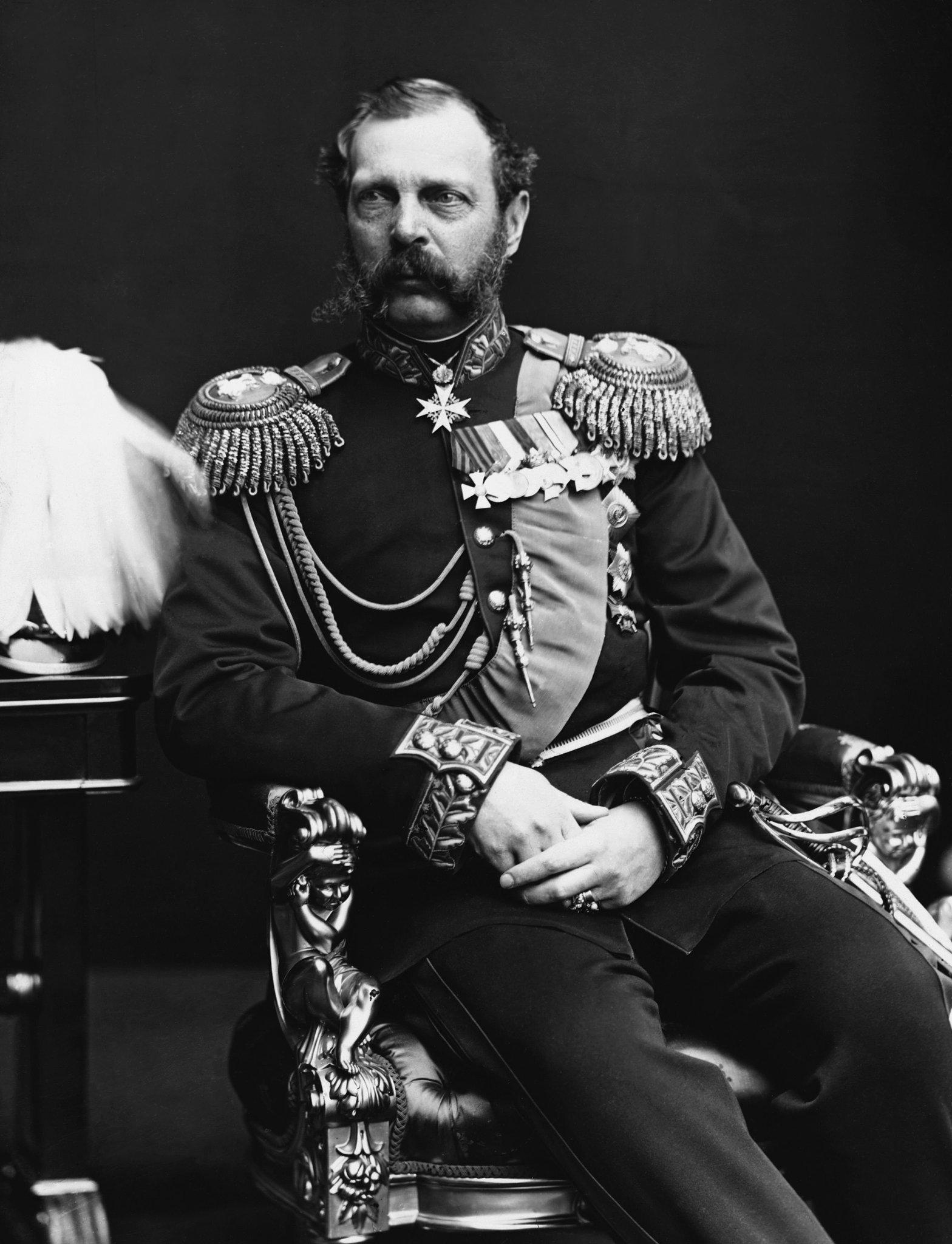 Александр II. Фото между 1878 и 1881гг.
