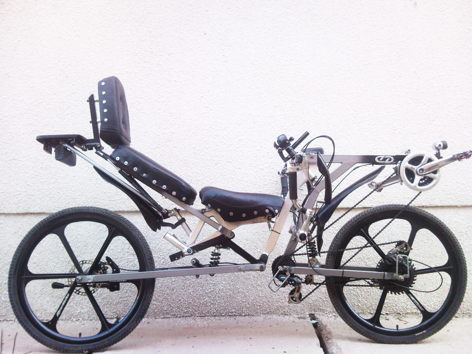 Велосипед лежачий своими руками фото 241