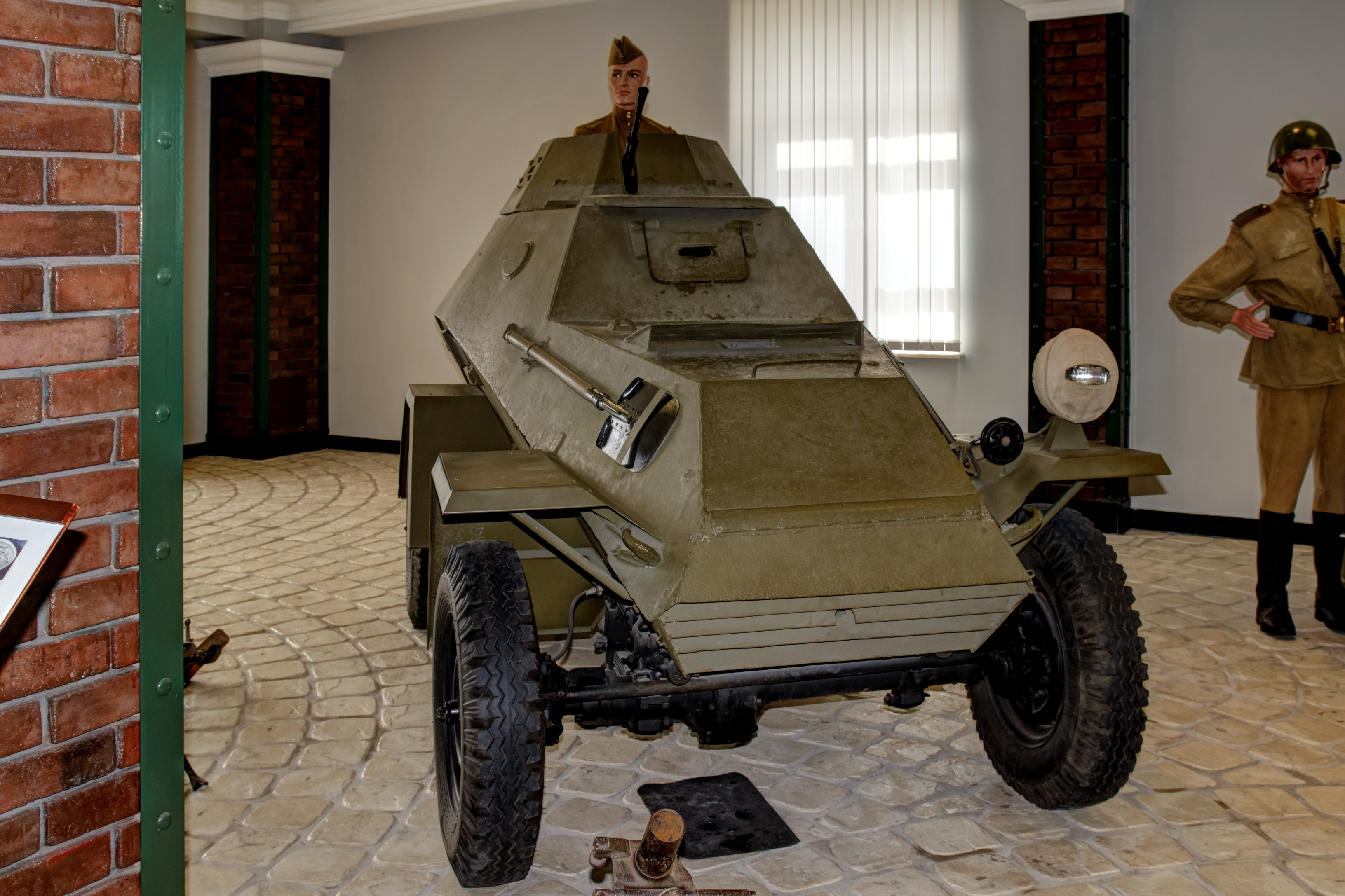 File:Arkhangelskoye Vadim Zadorozhnys Vehicle Museum Armored car ...
