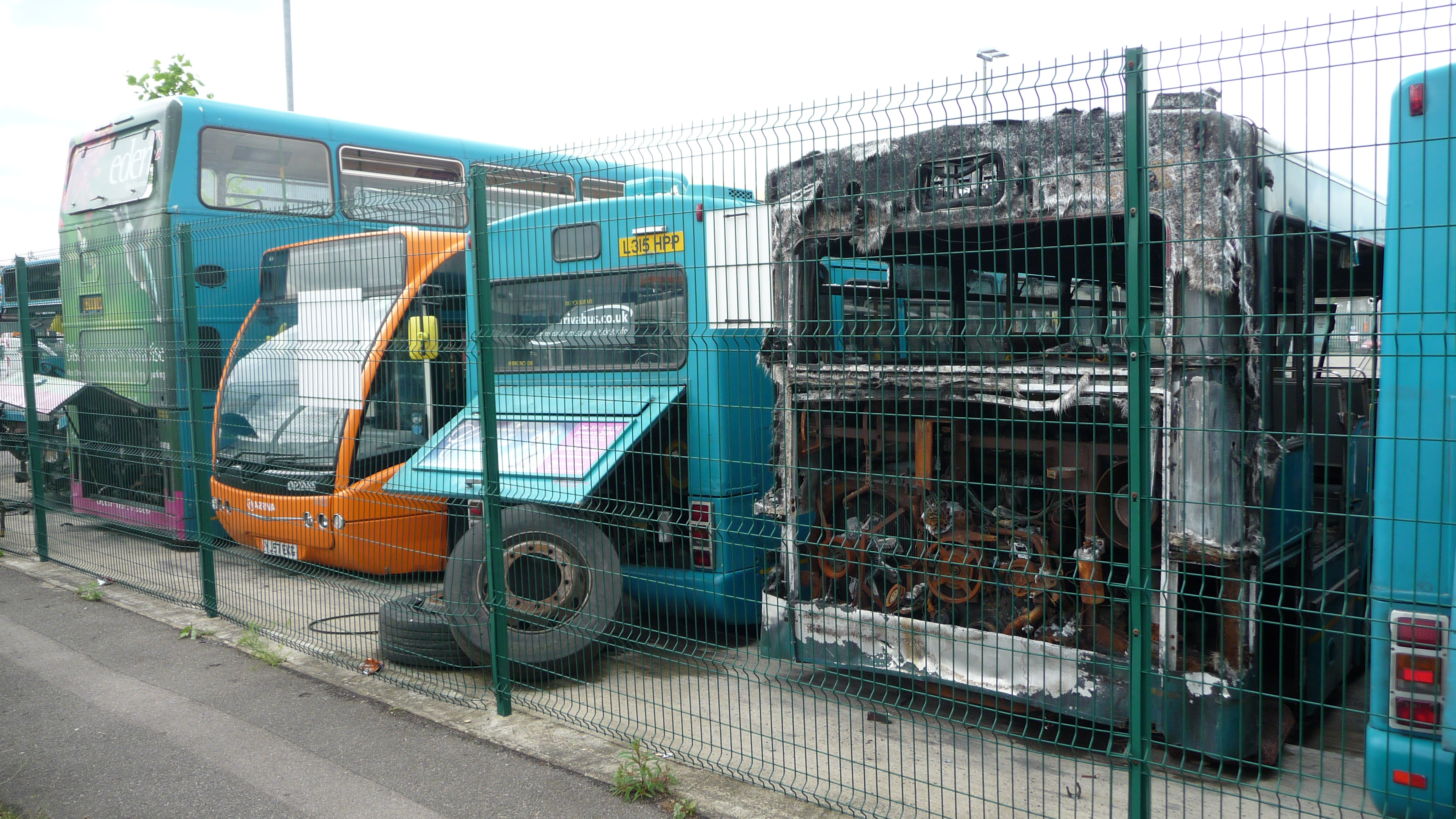 File Arriva The Shires High Wycombe Depot Buses 2 Jpg