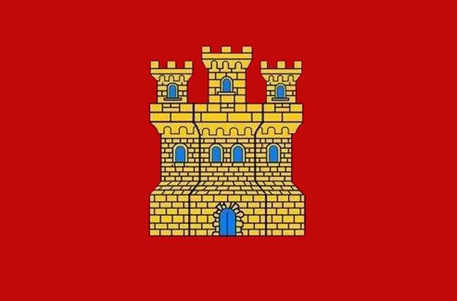 Resultado de imagen de bandera castellana