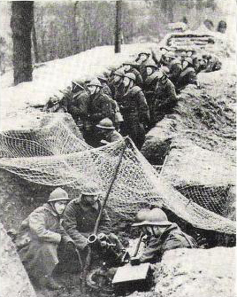 Belgian soldiers in a trench, circa 1940 Belgian soldiers in a trench, 1940.jpg