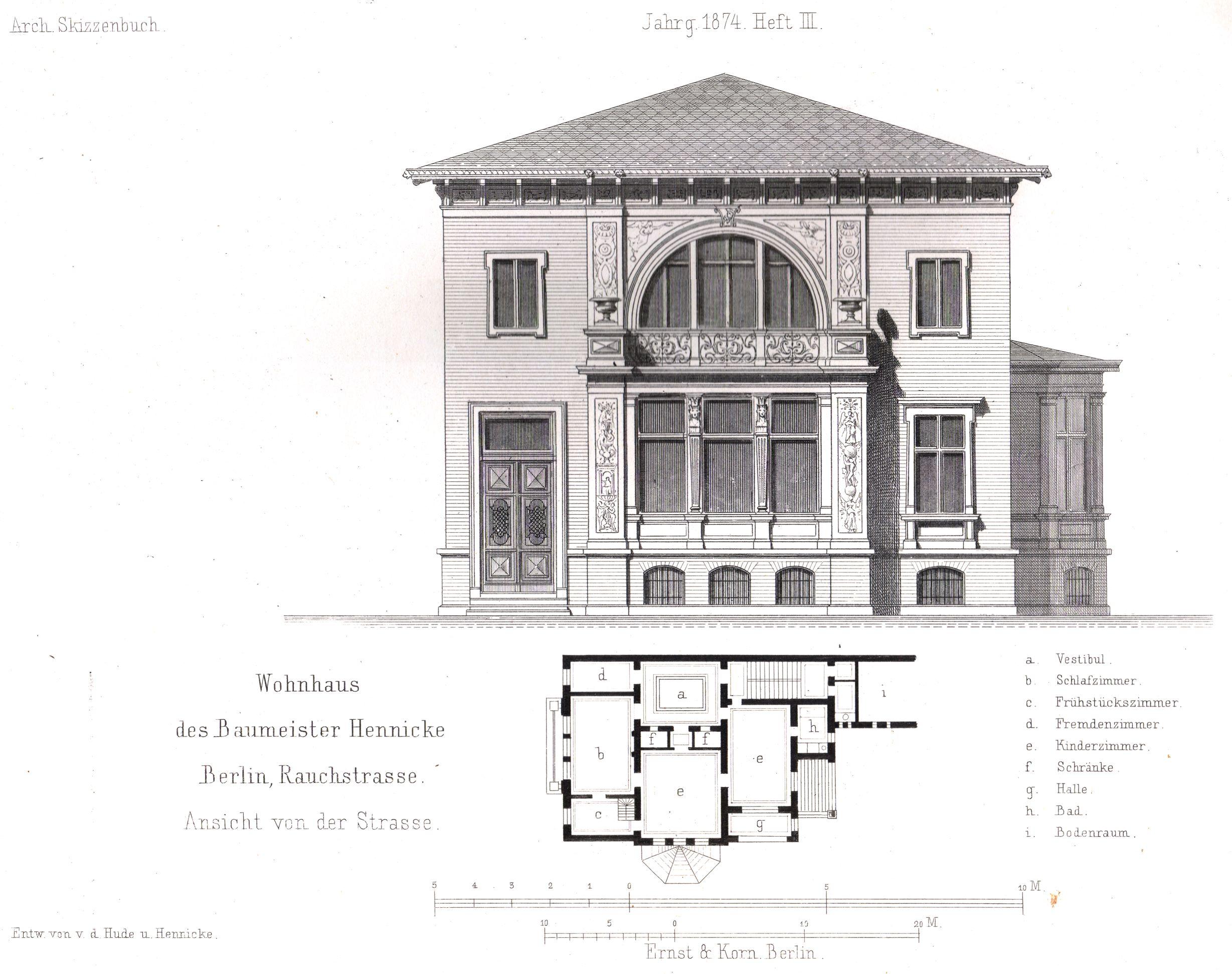 Villa Savoye Front Elevation : Villa elevation plan facade joy studio design gallery