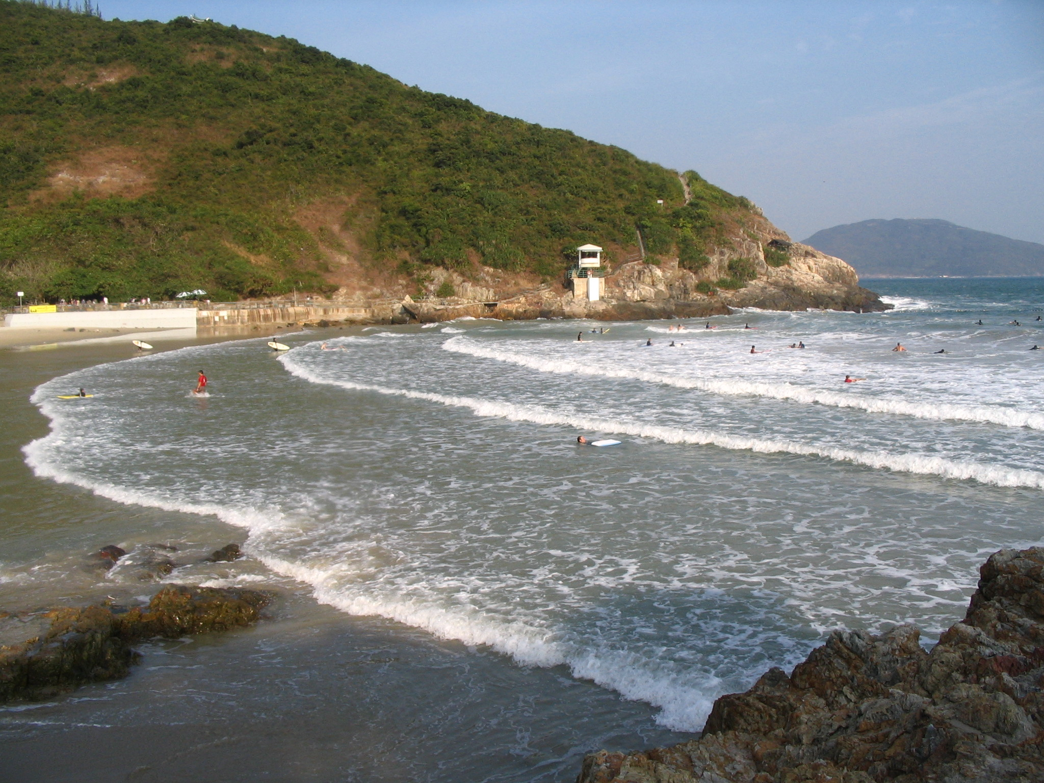Big Wave Bay Beach Hong Kong