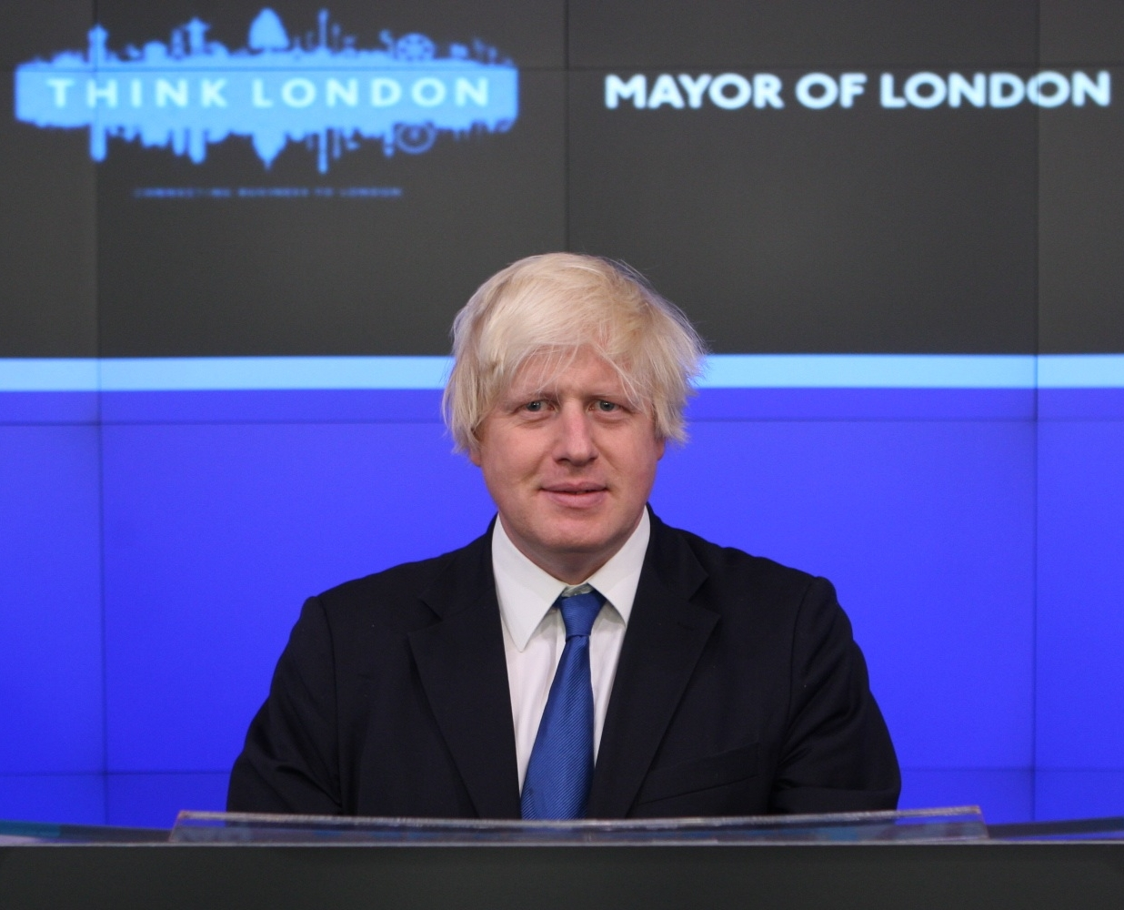Boris Johnson -opening bell at NASDAQ-14Sept2009-3c.jpg
