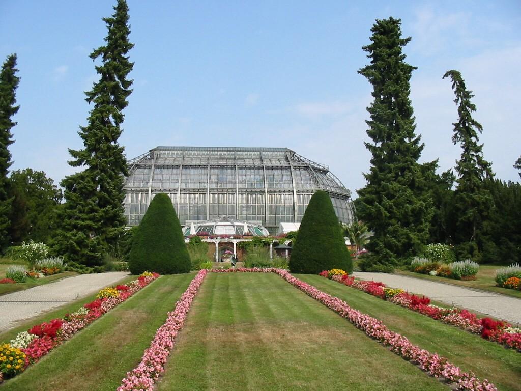 Das Tropenhaus im Botanischen Garten in Lichterfelde