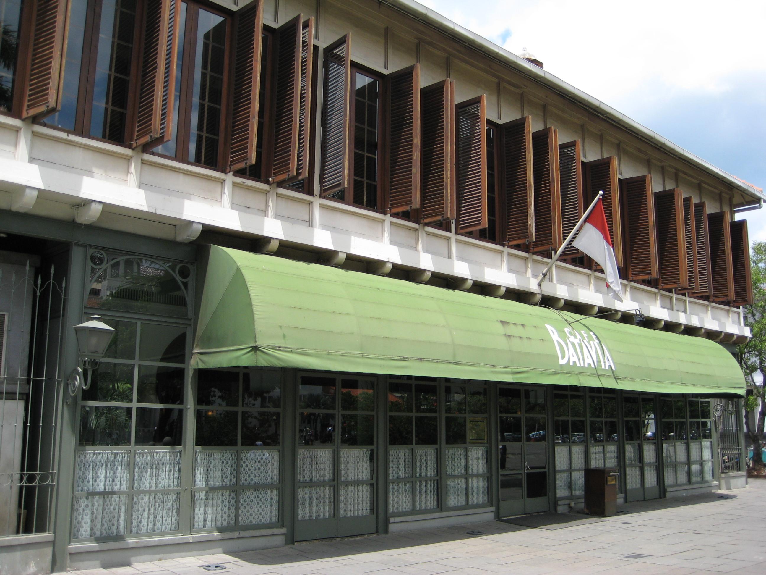 Cafe Batavia Menu