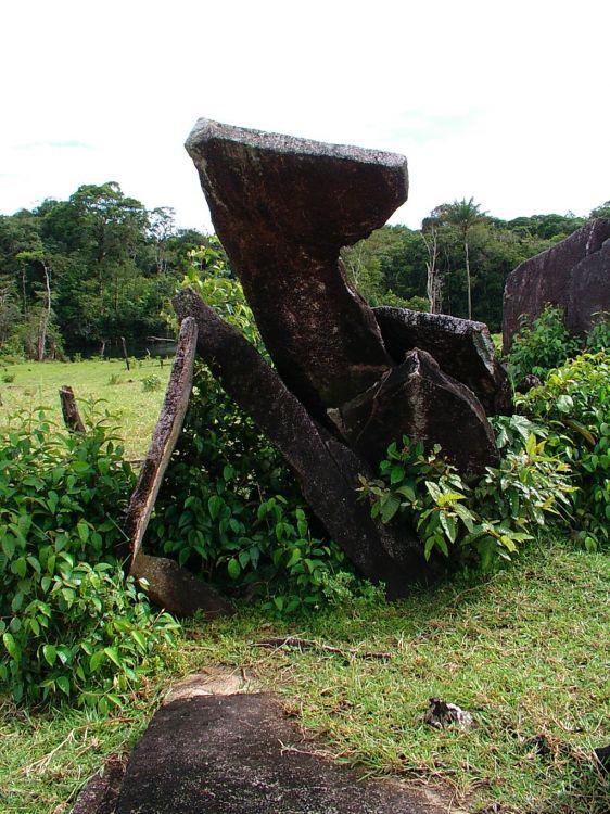 Pierre de l'ovservatoire au Brésil