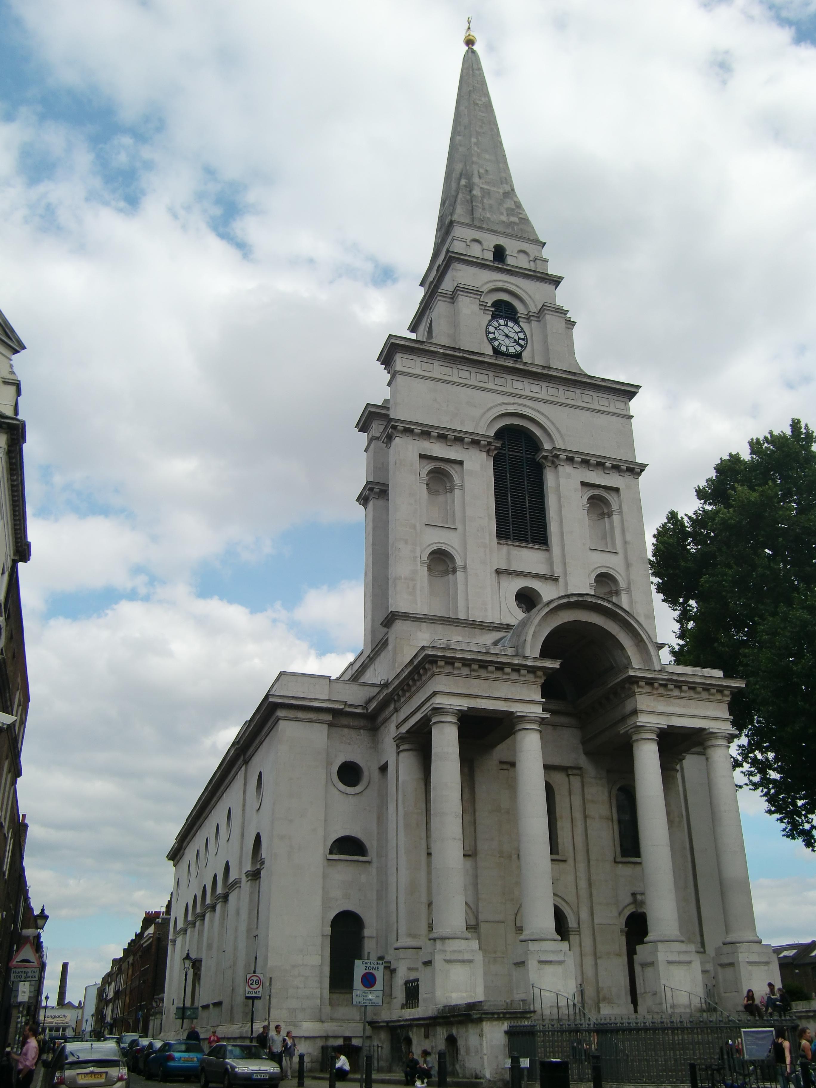 Spitalfields London: File:Christ Church, Spitalfields, London 02.JPG