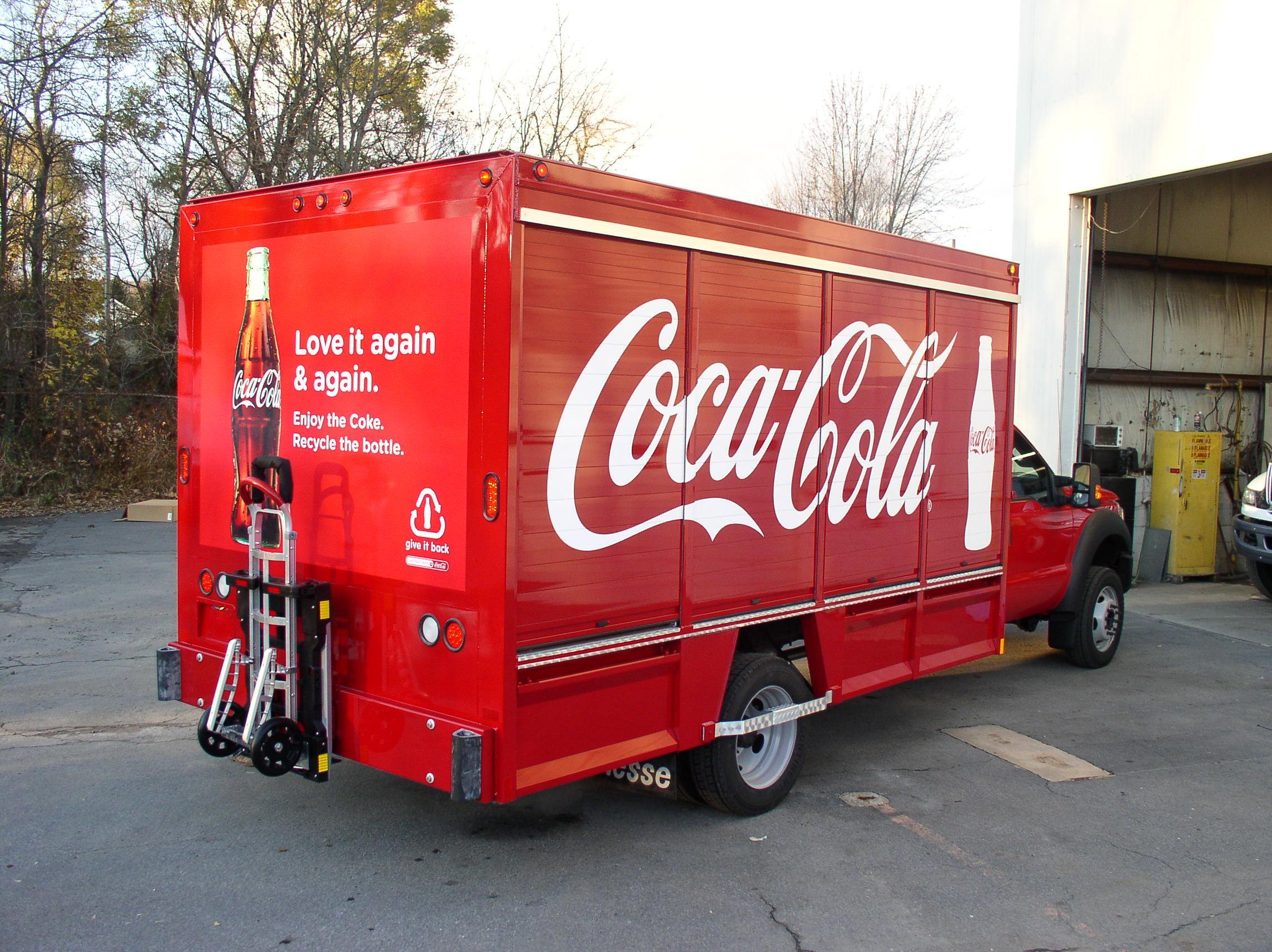 Coca Cola Red Paint Nason