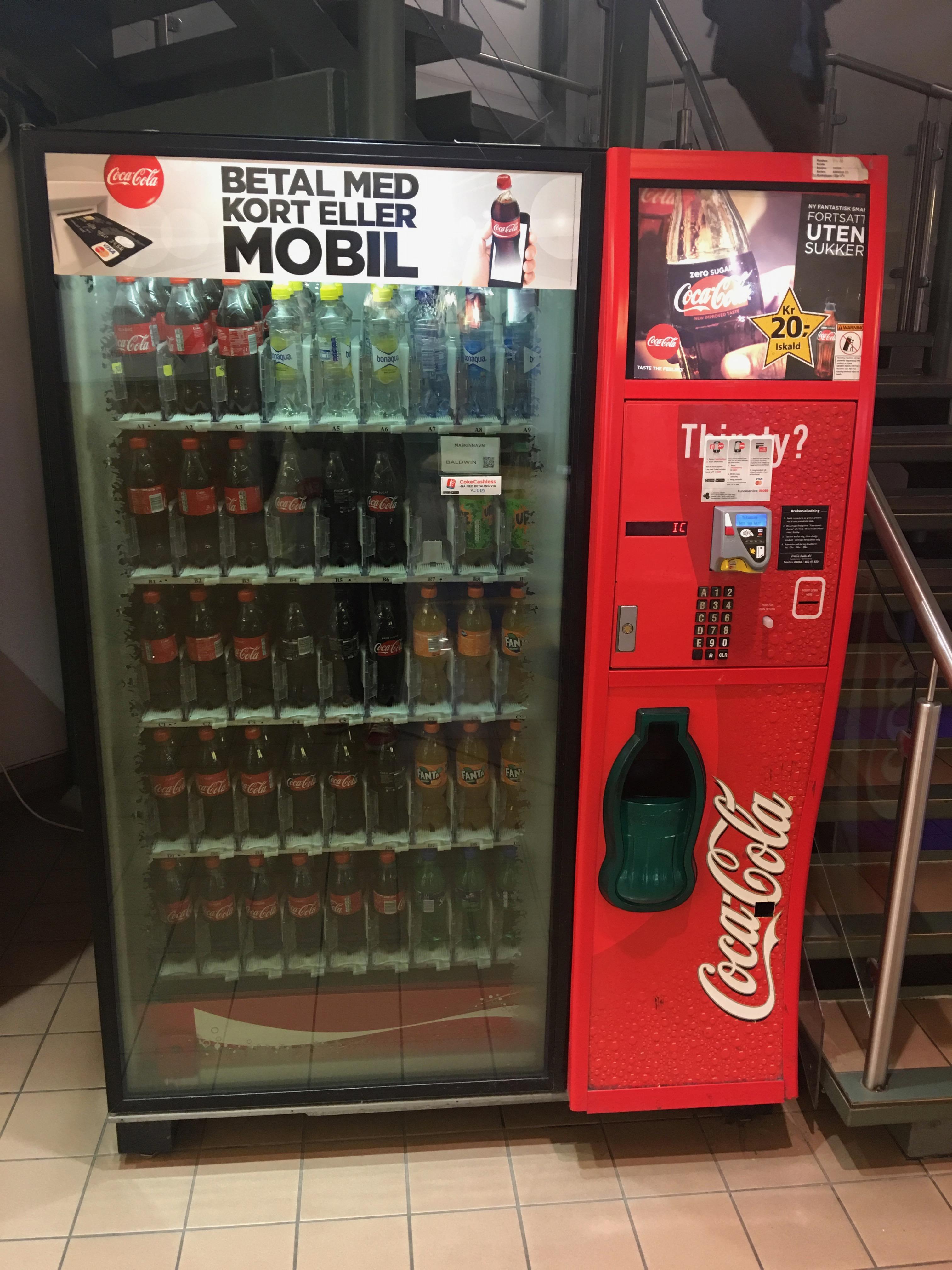 File:Coca Cola automated vending machine (brusautomat ...