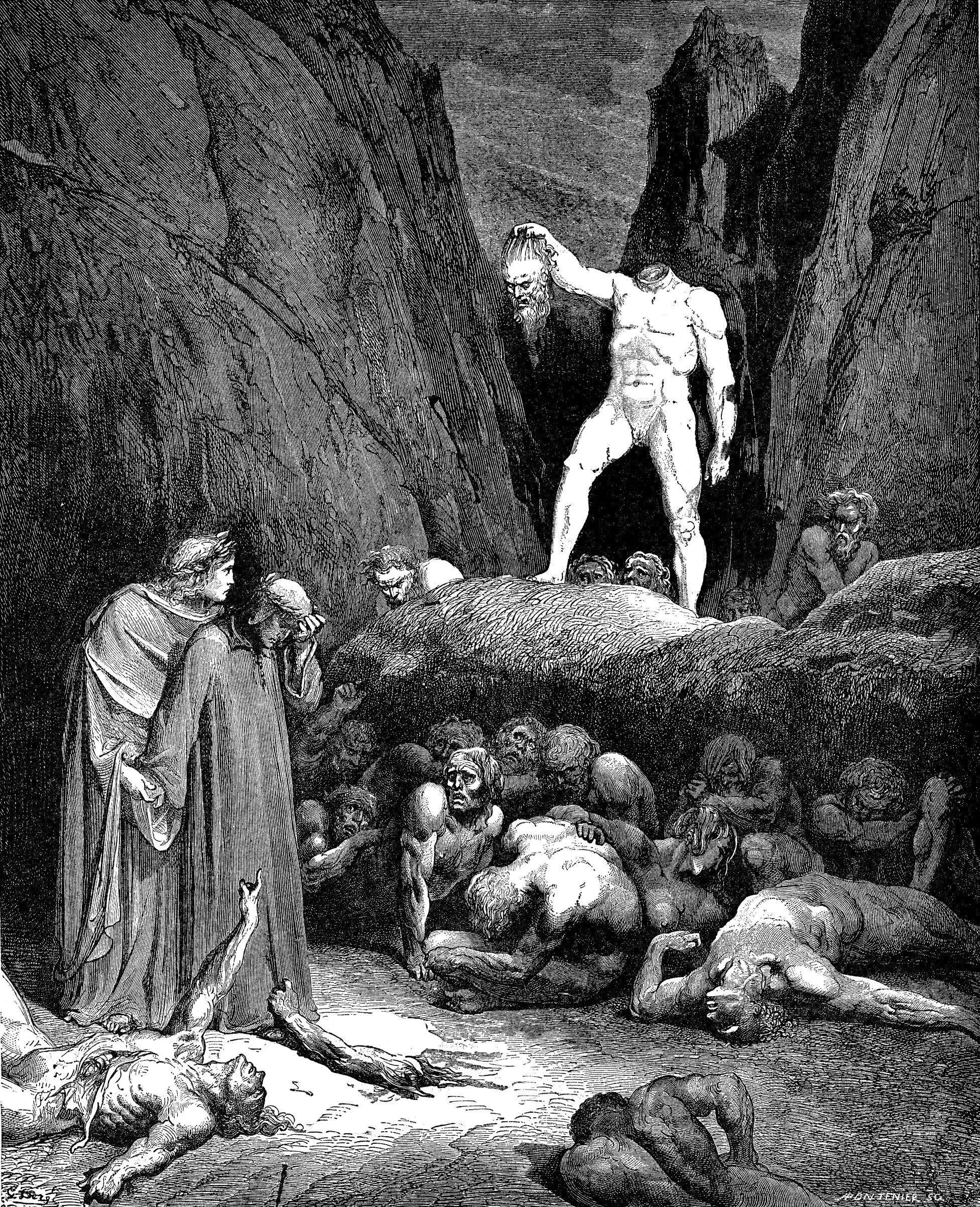 Dante's Inferno: Contrapasso Essay