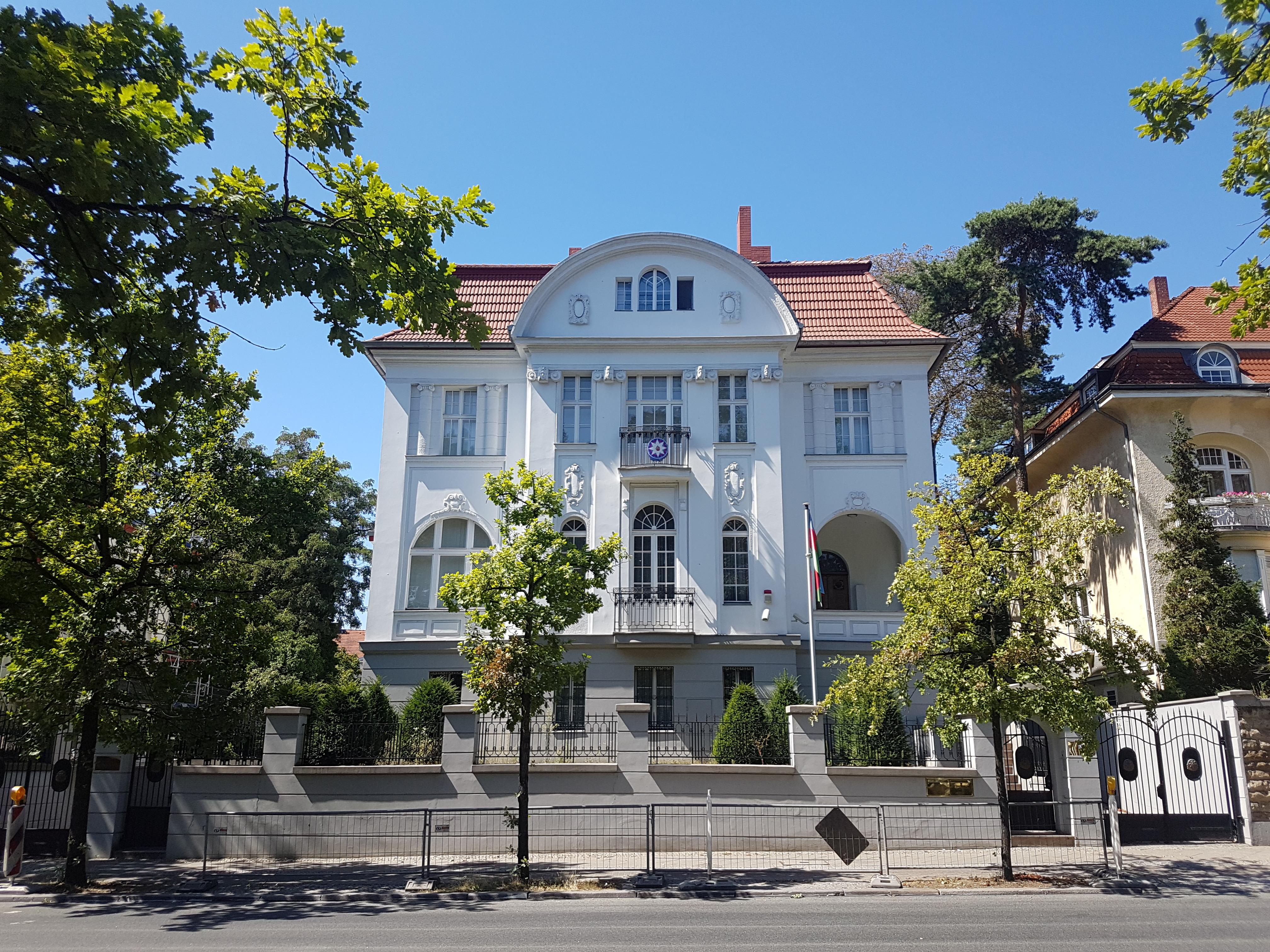 botschaft azerbaijan berlin