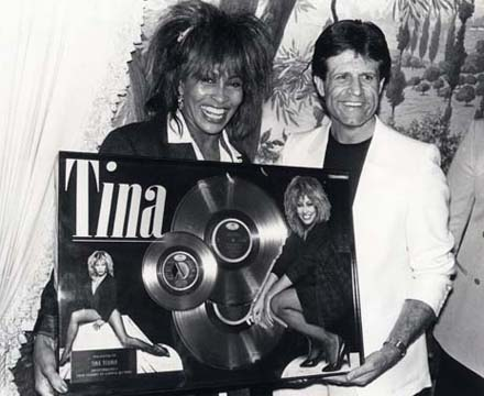 Don Grierson with Tina Turner