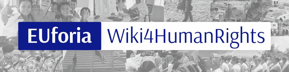 EUforia Wiki4HumanRights - Spanduk.png