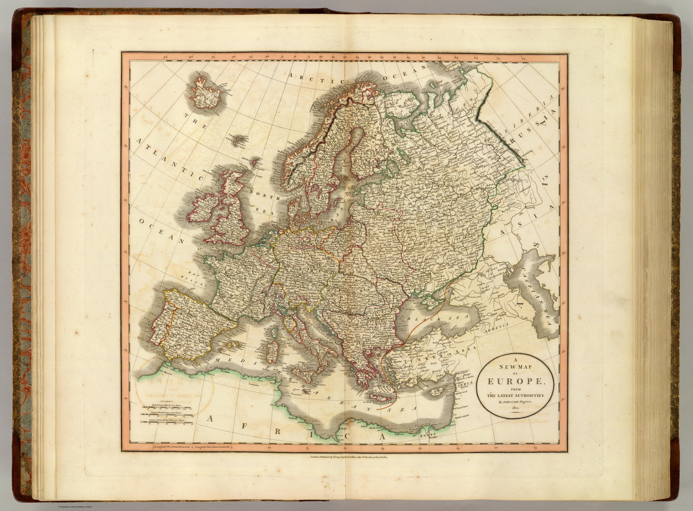 FileEurope map 1804 Caryjpg Wikipedia