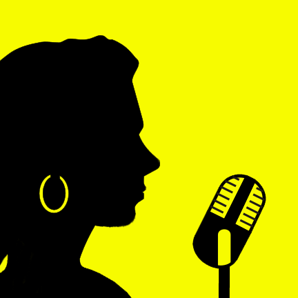 Ficheiro:Female singer silhouette.png