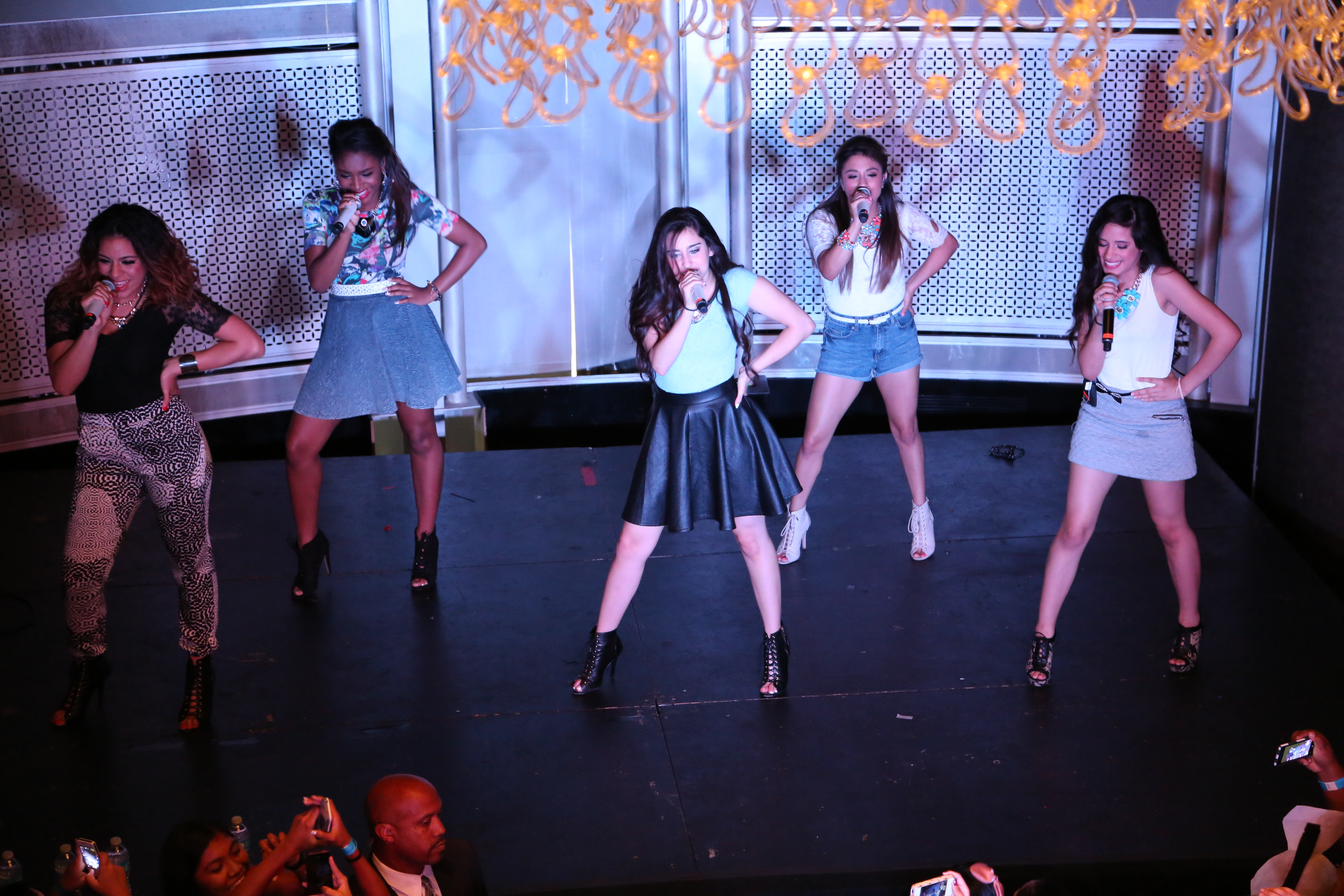Depiction of Fifth Harmony