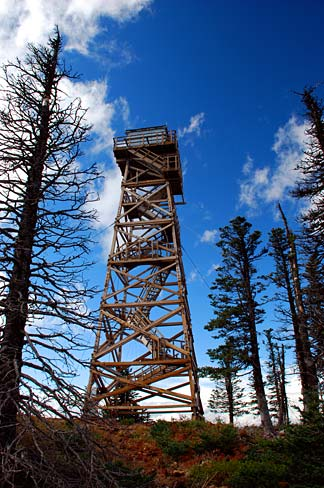 filefire lookout tower jefferson county oregon scenic