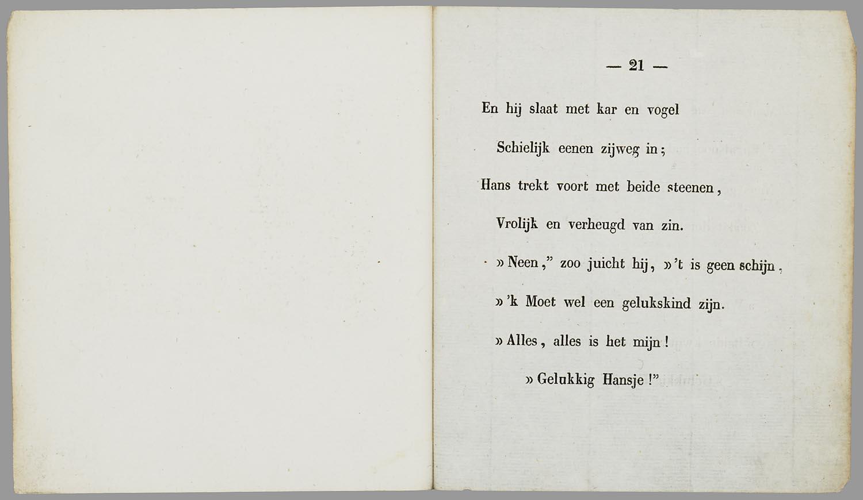 Filegelukkig Hansje Eene Vertelling Voor Kinderen 184x