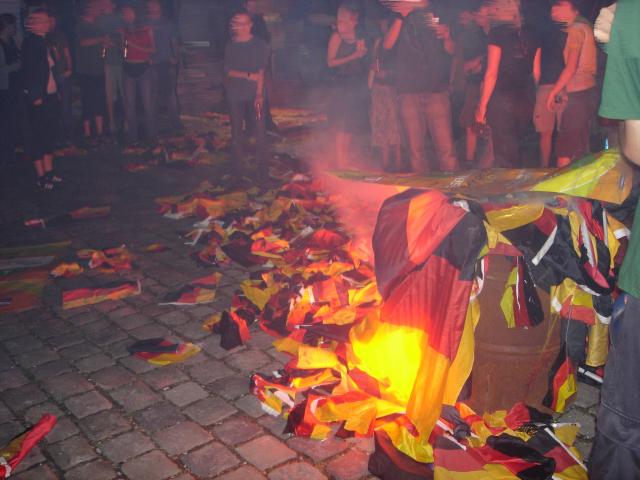 Burning Deutsch