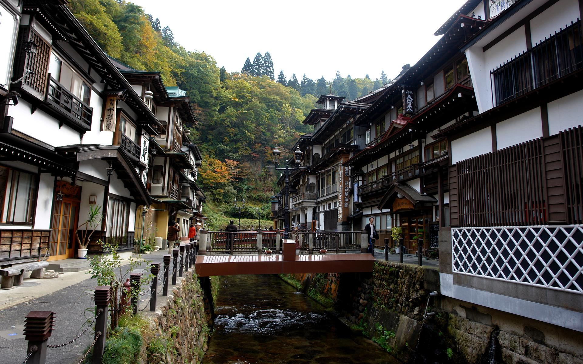 Stroll Around Ginzan Onsen The Nostalgic Onsen Town Of