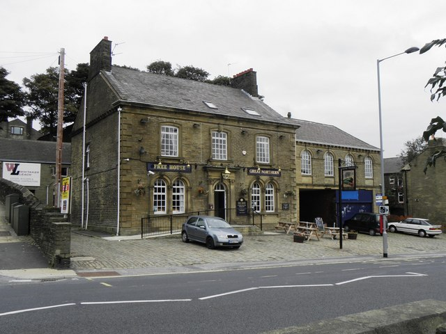 File Great Northern Hotel Thornton Road Geograph Org Uk 1496787