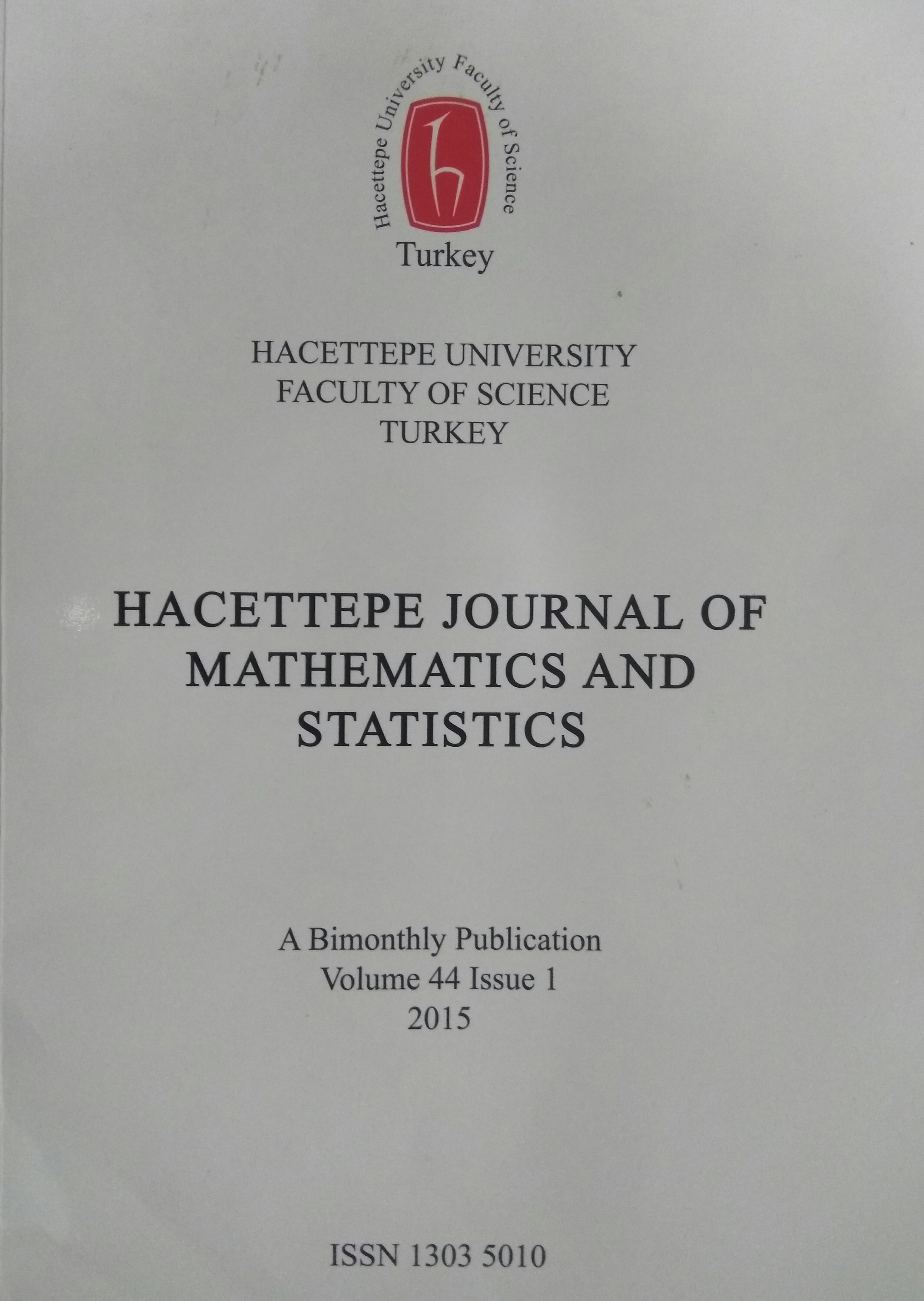 Hacettepe Journal of Mathematics and Statistics - Wikipedia