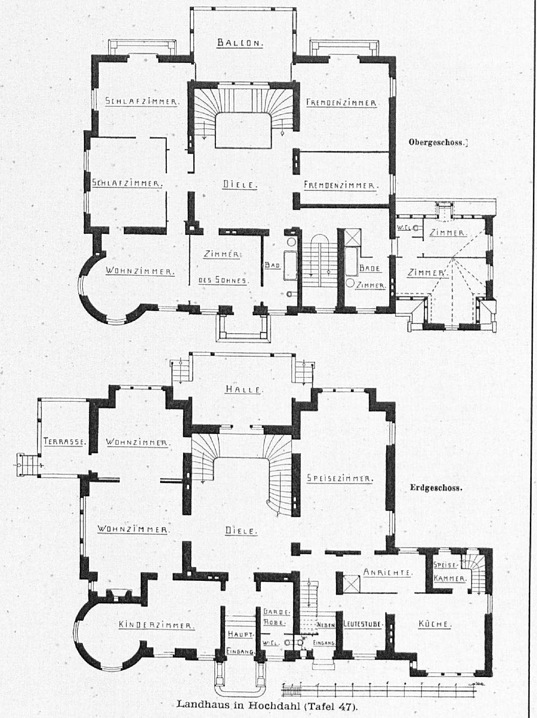 file haus in hochdahl bei d sseldorf architekten kayser von groszheim d sseldorf tafel 47. Black Bedroom Furniture Sets. Home Design Ideas