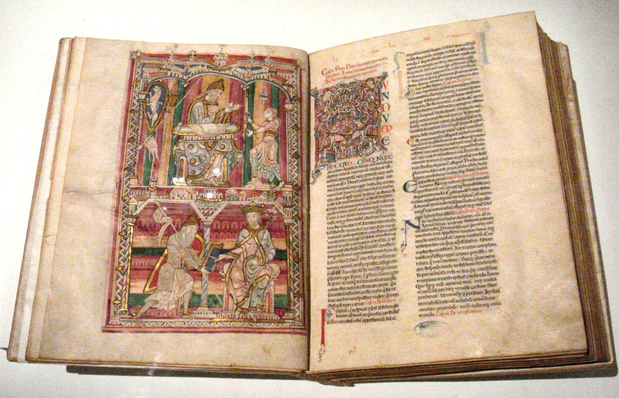 Fichier:Histoire Naturelle Pline l Ancien mid 12th century Abbaye de Saint  Vincent Le Mans France.jpg — Wikipédia