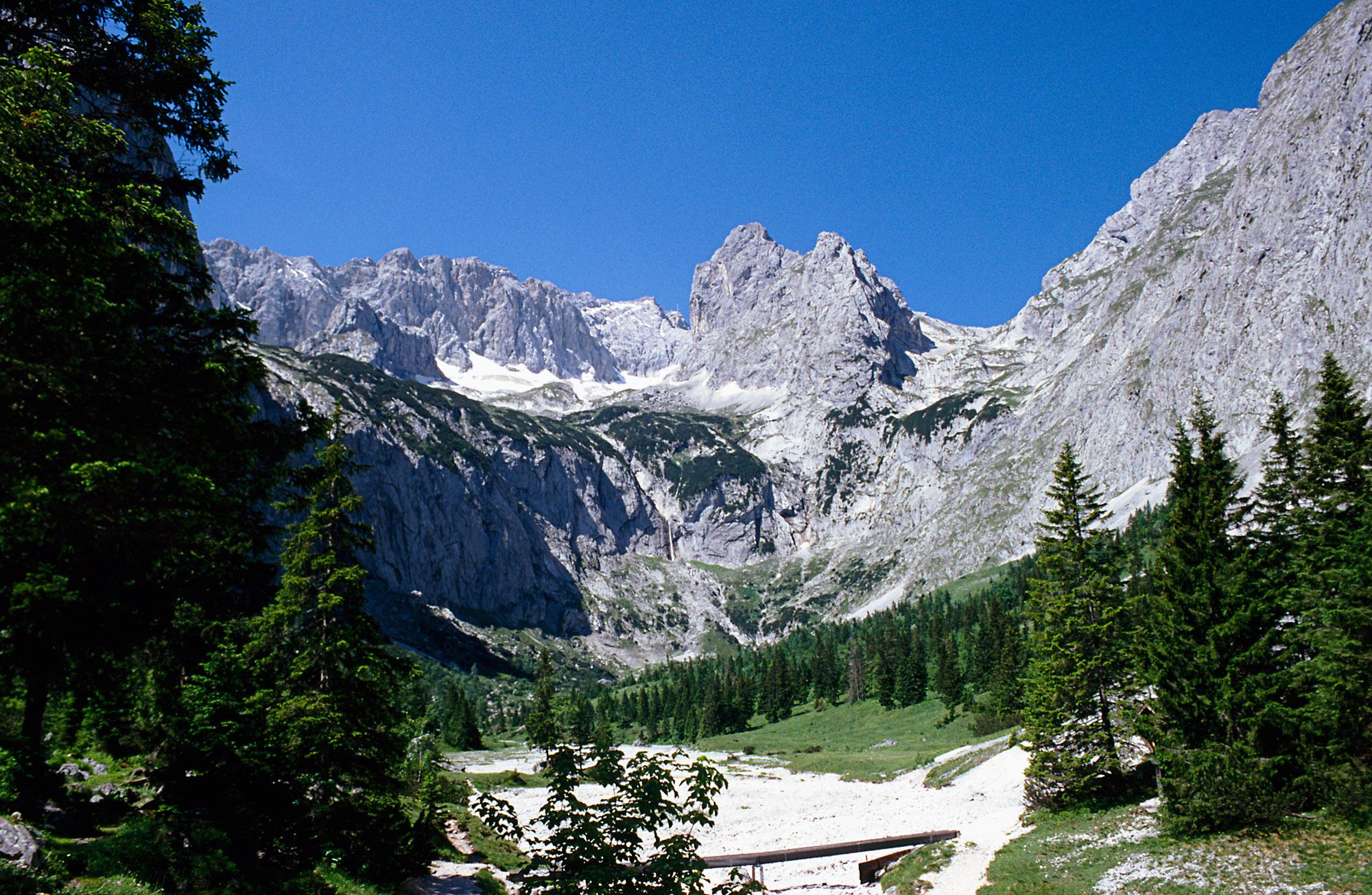 Richtung Zugspitze